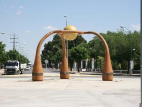 La Unión Escultura Manzanares